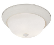 Trans Globe Lighting - Button Frost 13 Inch Flushmount