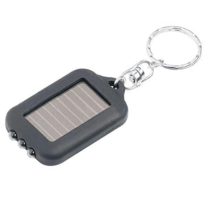 Mini Solar Power  3 LED Key Ring Light