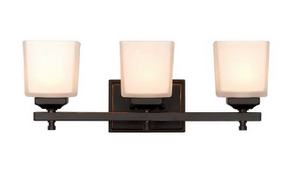 Trans Globe Lighting - Cubed 3 Light Vanity Bar
