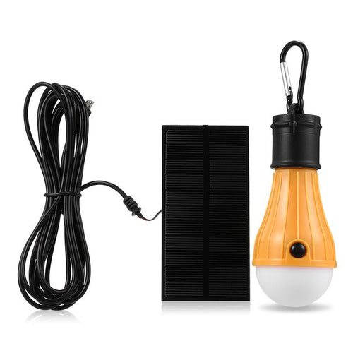 3 Mode Solar Powered LED Light Bulb