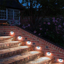 4 Pcs  Solar Light IP65 Waterproof Lamp with 6