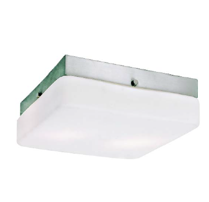 Trans Globe Lighting - Halogen G9 6 Inch Square Flush-Mount