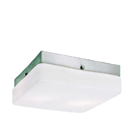 Trans Globe Lighting - Halogen G9 9 Inch Square Flush-Mount