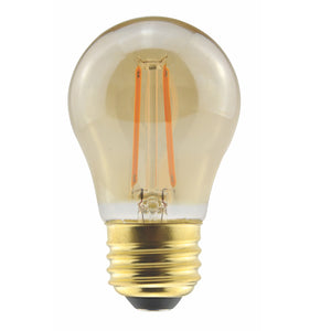 Halco - A15 Amber 5W Antique Filament LED Bulb
