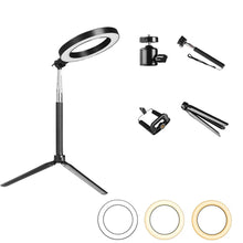 LED Ring Light Kit with Stand