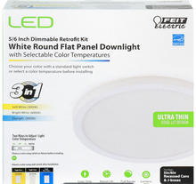 Feit Electric - 5/6 Inch Round LED Recessed Downlight