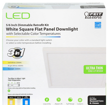 Feit Electric - 7.5 Inch Square LED Recessed Downlight