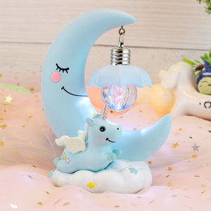 LED Unicorn Night Lamp