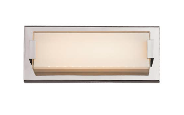 Trans Globe Lighting - Polished Chrome Small LED Vanity Bar