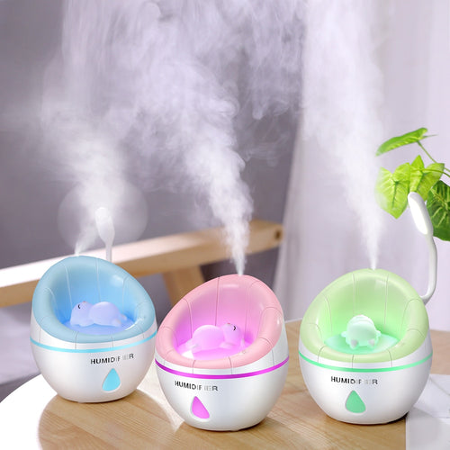 Portable Ultrasonic LED Humidifier