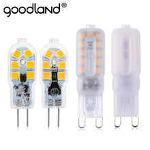 2pcs/lot G4 G9 LED Lamp Mini LED Bulb DC 12V SMD2835 Spotlight Chandelier High Quality Lighting Replace Halogen Lamps