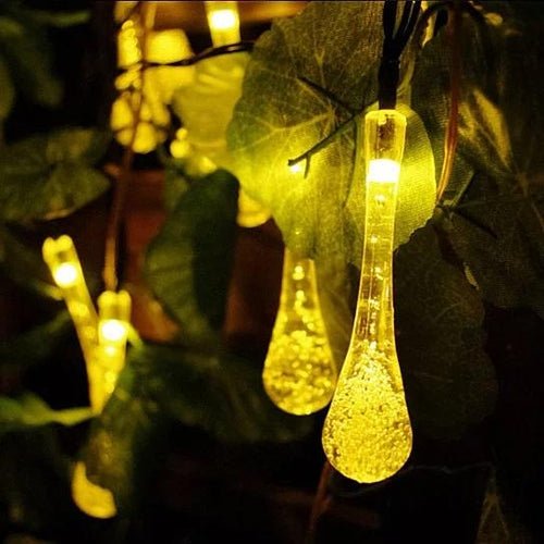 LED Solar Dew Drop Lights