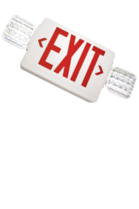 EXITRONIX - Thermoplastic Combo LED Exit Sign