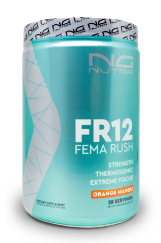 FR12, Fema Rush, Energy, Focus, Strength and Thermogenic