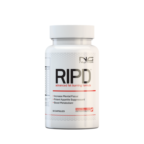 RIPD increases energy, metabolism and mental focus to decrease body fat.