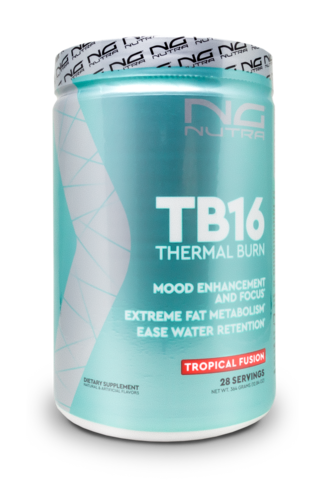 TB16 or thermal burn increases energy, focus and metabolism boost while enhancing your mood.