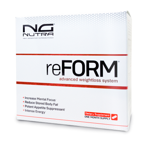 reForm, increase metabolism, burns body fat, tones stubborn areas and support cardiovascular health