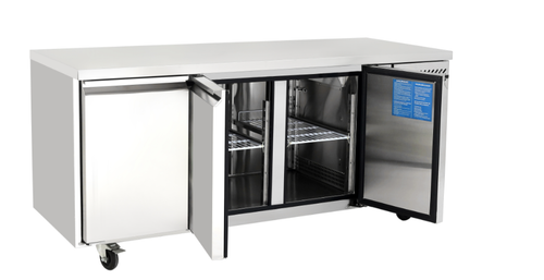 Atosa 3 Door Counter Fridge EPF3432