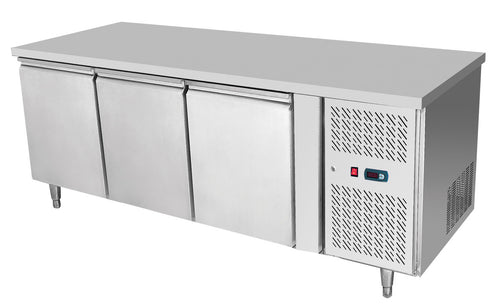 Atosa 3 Door Counter Fridge with 900mm height EPF3432H