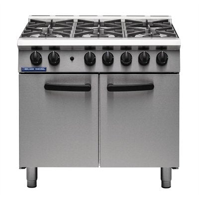 Blue Seal 6 Burner Oven Range G750 6