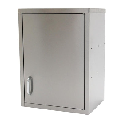 Parry Stainless Steel Hinged Wall Cupboard 600mm