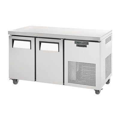 True 2 Door 297Ltr Counter Fridge TGU-2-HC