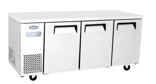 Atosa 3 Door Undercounter Fridge