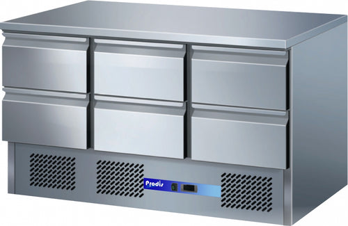 Prodis EC-6DSS Refrigerated Counter