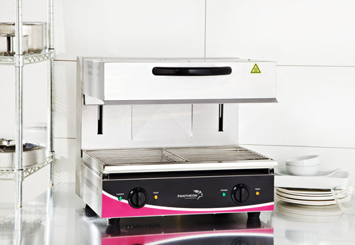 Pantheon Large Rise and Fall Adjustable Salamander Grill