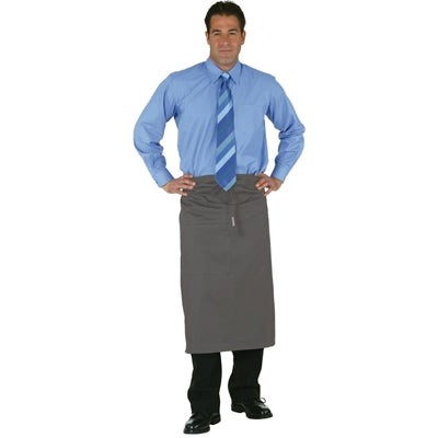 Uniform Works Regular Bistro Apron Charcoal