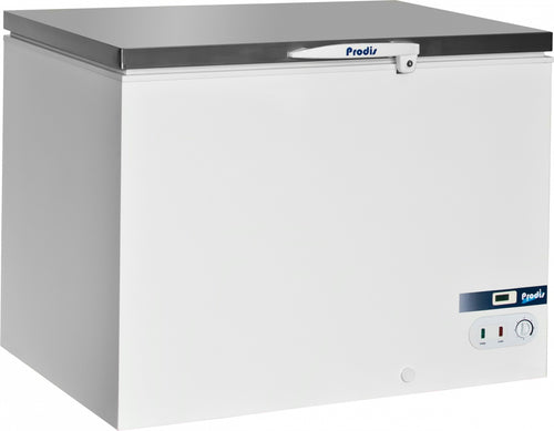 Prodis Arctic 350ltr Stainless Steel Lid Chest Freezer *5yr Full Warranty*