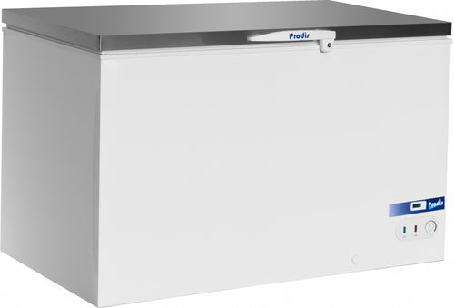Prodis Arctic 450ltr Stainless Steel Lid Chest Freezer *5yr Full Warranty*