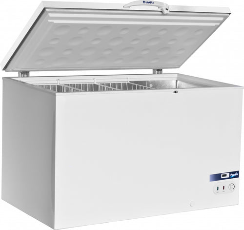 Prodis Arctic 450ltr White Lid Chest Freezer *5yr Full Warranty*