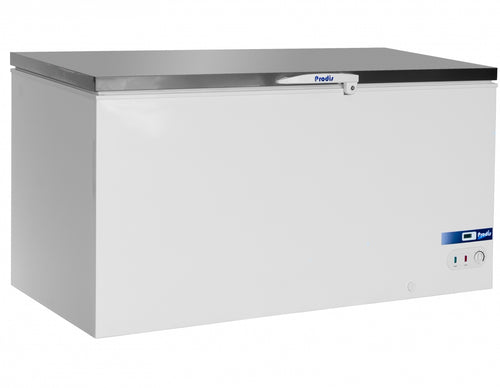 Prodis Arctic 550ltr Stainless Steel Lid Chest Freezer *5yr Full Warranty*