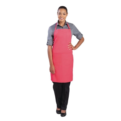 Chef Works Bib Apron Berry