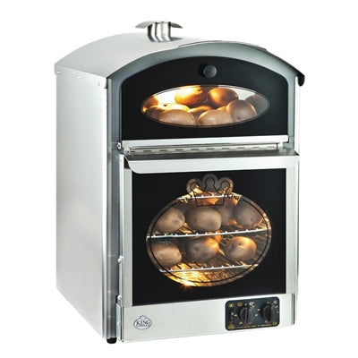 King Edward Bake-King Potato Oven Stainless Steel