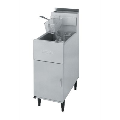 Dean Tube Single Natural Gas Fryer