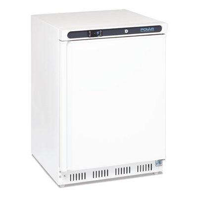 Polar Undercounter Freezer White 140Ltr