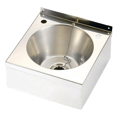 Franke Sissons Stainless Steel Wash Basin Only with Waste Kit 290x290x157mm