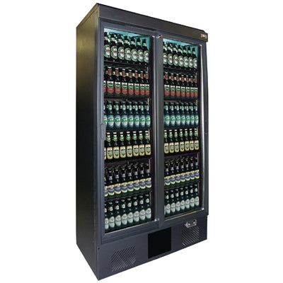 Gamko Maxiglass 2 Glass Door 500Ltr Bottle Cooler Cabinet MG2/500SD