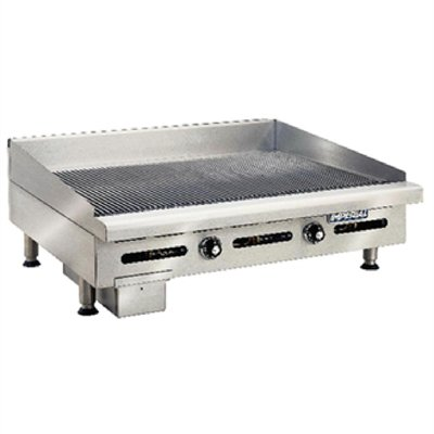 Imperial Thermostatic Ribbed Natural Gas Griddle IGG-36