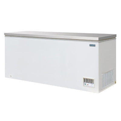 Polar Chest Freezer with Stainless Steel Lid 587Ltr