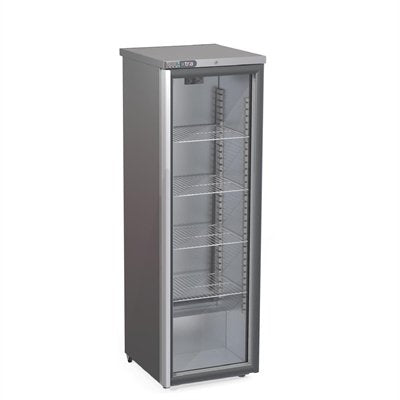 Foster Xtra Slimline 1 Glass Door 410Ltr Cabinet Fridge XR415G