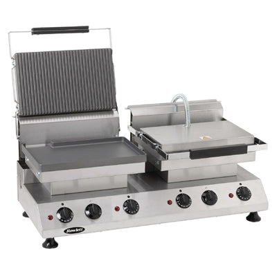 Rowlett Double Contact Grill Flat and Ribbed Plates