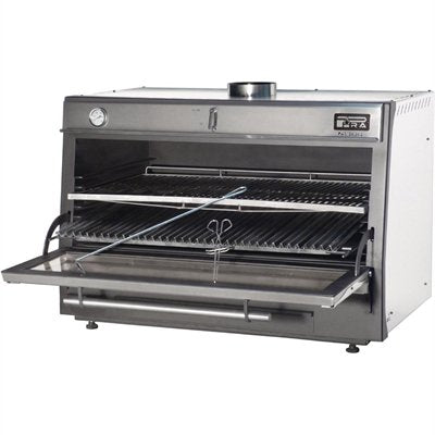 Pira 120 LUX Charcoal Oven Stainless Steel
