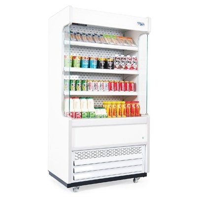 Williams Gem 960mm Slimline Multideck White with Nightblind R100-WCN