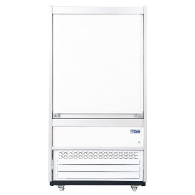 Williams Gem 960mm Slimline Multideck White with Security Shutter R100-WCS