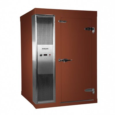 Polar 1.2 x 1.5m Integral Walk In Freezer Room Brown