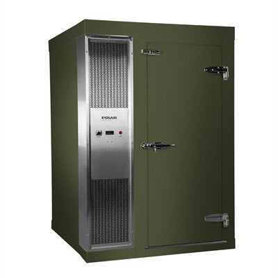 Polar 1.2 x 1.5m Integral Walk In Freezer Room Green