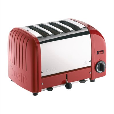 Dualit 4 Slice Vario Toaster Red 40353